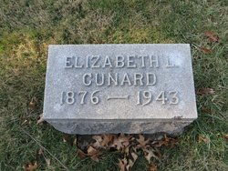 """Elizabeth Dunbar """"Lizzie"""" <I>Lodge</I> Cunard"""
