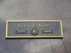 Cecil E. Kidd