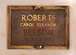 Edith Jessie <I>McCrea</I> Beeson