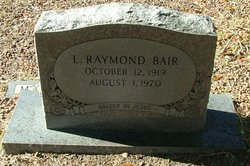 Lawrence Raymond Bair