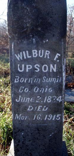 Wilbur F, Upson