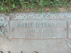 Marie <I>Herman</I> McComas