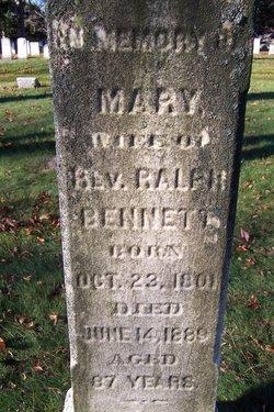 Mary Elizabeth <I>Caslor</I> Bennett