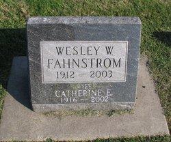 Wesley W Fahnstrom