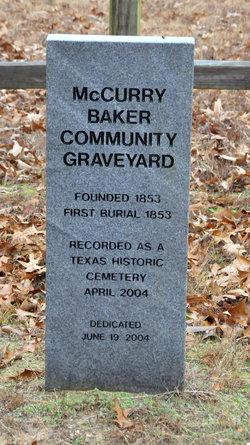 McCurry Baker Community Graveyard