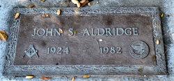 John S Aldridge