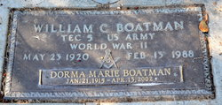 William C Boatman