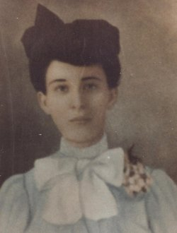 "Elizabeth Alma ""Lizzie"" <I>Portwood</I> Maupin"