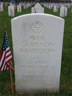 Paul Cameron Raubeson