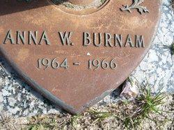 Anna W Burnam