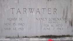 "Nancy Lorena ""Nannie"" <I>Rule</I> Tarwater"