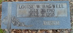 Mary Louise <I>Wood</I> Bagwell