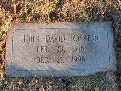 John David Rolston