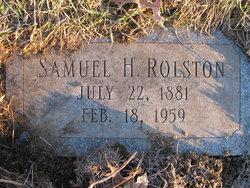 Samuel Henry Rolston