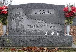 Sarah Jane <I>Moake</I> Craig