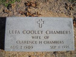 Leta <I>Cooley</I> Chambers