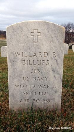 Willard R Billups