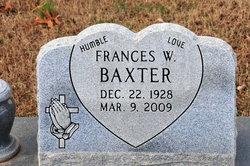 Frances W. Baxter