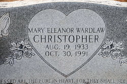 Mary Eleanor <I>Wardlaw</I> Christopher