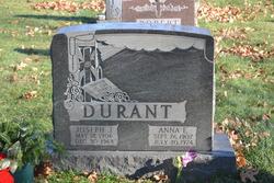 Joseph J Durant