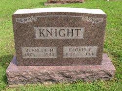Blanche D. <I>Dickerson</I> Knight