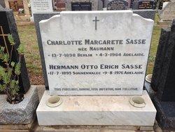 Dr Hermann Otto Erich Sasse