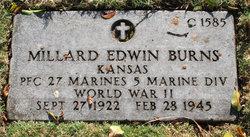 PFC Millard Edwin Burns
