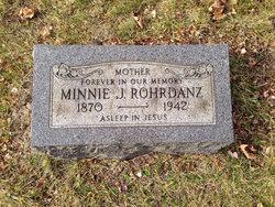 Wilhelmine J. <I>Marx</I> Rohrdanz