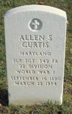 Allen S Curtis
