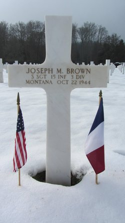 SSgt Joseph M Brown