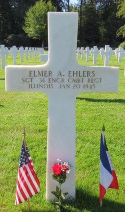 Sgt Elmer A Ehlers