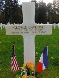 SSgt George Gaydush