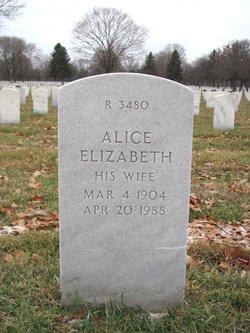 Alice Elizabeth <I>Abrams</I> Derrick