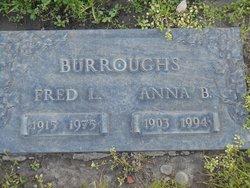 Anna Belle <I>Daniels</I> Burroughs