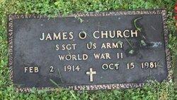Sgt James O Church