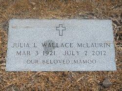 Julia Lane <I>Wallace</I> McLaurin