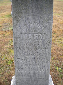 "Mary ""Mollie"" <I>Gaugler</I> Hoover"