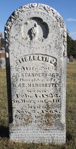 Elisabeth J. <I>Manchester</I> Standerford