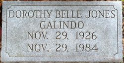 Dorothy Belle <I>Jones</I> Galindo