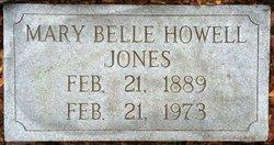 Mary Belle <I>Howell</I> Jones