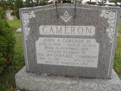 Ida <I>MacDougall</I> Cameron
