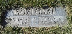 Frank A Kozloski