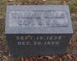 Capt William Mills