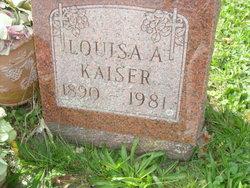 Louisa A <I>Rollman</I> Kaiser