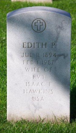 Edith P Hawkins