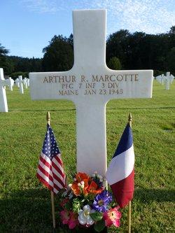 PFC Arthur R Marcotte