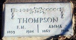 Anna <I>Rorabaugh</I> Thompson