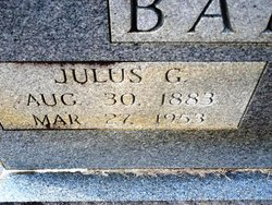 Julius Garfield Barton