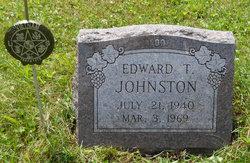 Edward Thomas Johnston