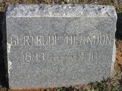 Gertrude Irene <I>Crain</I> Herndon